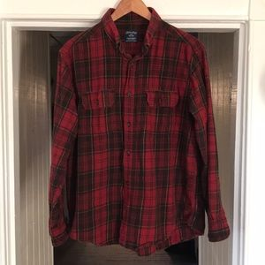Faded Glory | Flannel | Red Plaid | Large